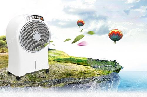 Làm mát không khí một cách tự nhiên với quạt điều hòa