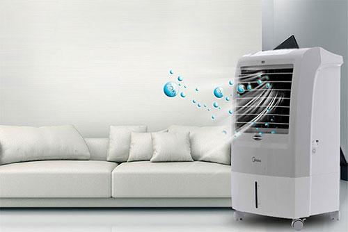 Quạt điều hòa giúp lọc không khí tốt hơn