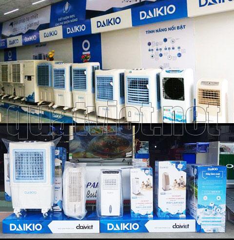 Quạt Việt bán quạt điều hòa máy làm mát Daikio giá rẻ nhất