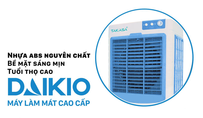 Máy làm mát không khí Daikio DK-4500C nhựa chất lượng tốt
