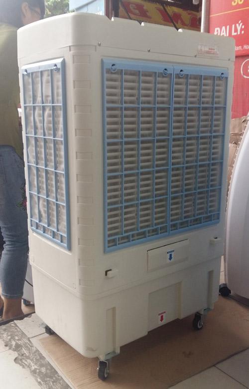 mặt sau máy làm mát không khí daichipro dcp 6666rc