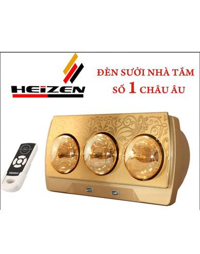 Đèn sưởi nhà tắm Heizen HE-3BR
