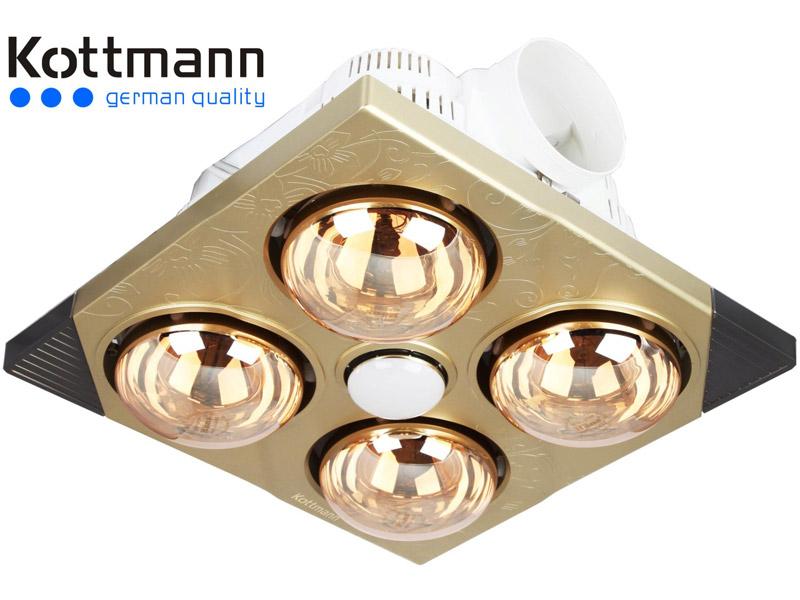 Đèn sưởi nhà tắm Kottmann K4B-T âm trần