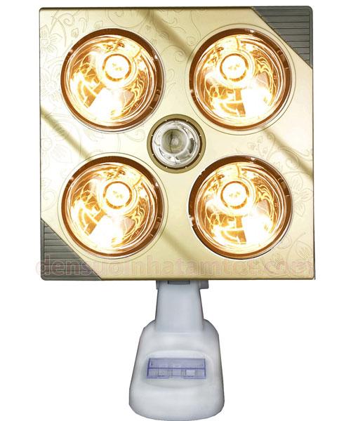 Đèn sưởi nhà tắm Kottmann K4B-G 4 bóng vàng