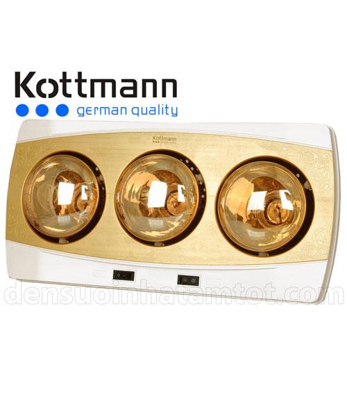 Đèn sưởi nhà tắm Kottmann K3B-H 3 bóng
