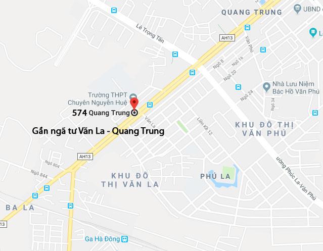 Ảnh bản đồ của hàng 3: số 574 Quang Trung Hà Đông