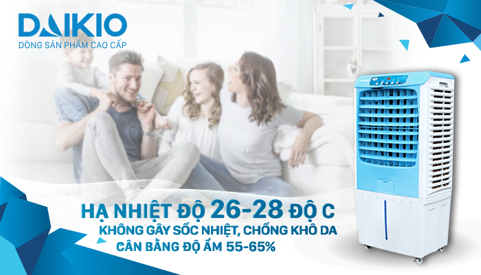 Máy làm mát không khí Daikio DKA-04000A làm mát không khí