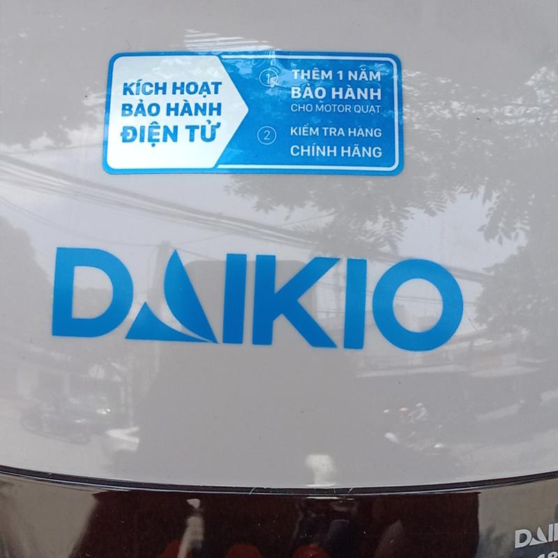 Quạt điều hòa Daikio DK-3500B bảo hành điện tử