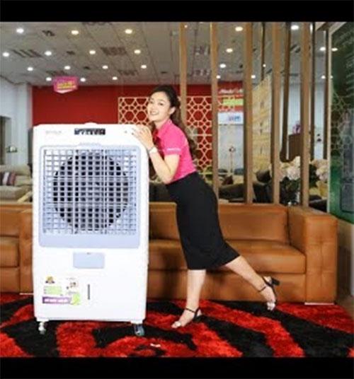Quạt điều hòa Goldsun Premium GPAC-N61R 400w cho 80m2 nhà hàng ăn uống