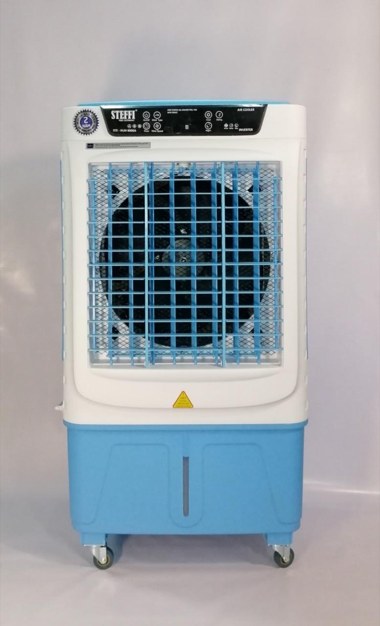 Quạt điều hòa làm mát Steffi STE-HUH 8000A công suất lớn loại tốt