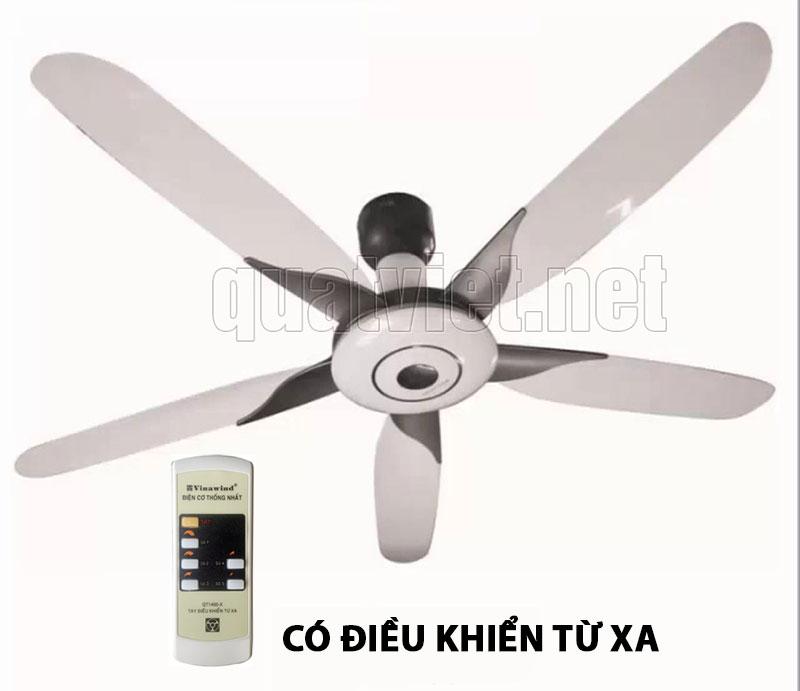Quạt trần điện cơ thống nhất Vinawind có điều khiển từ xa