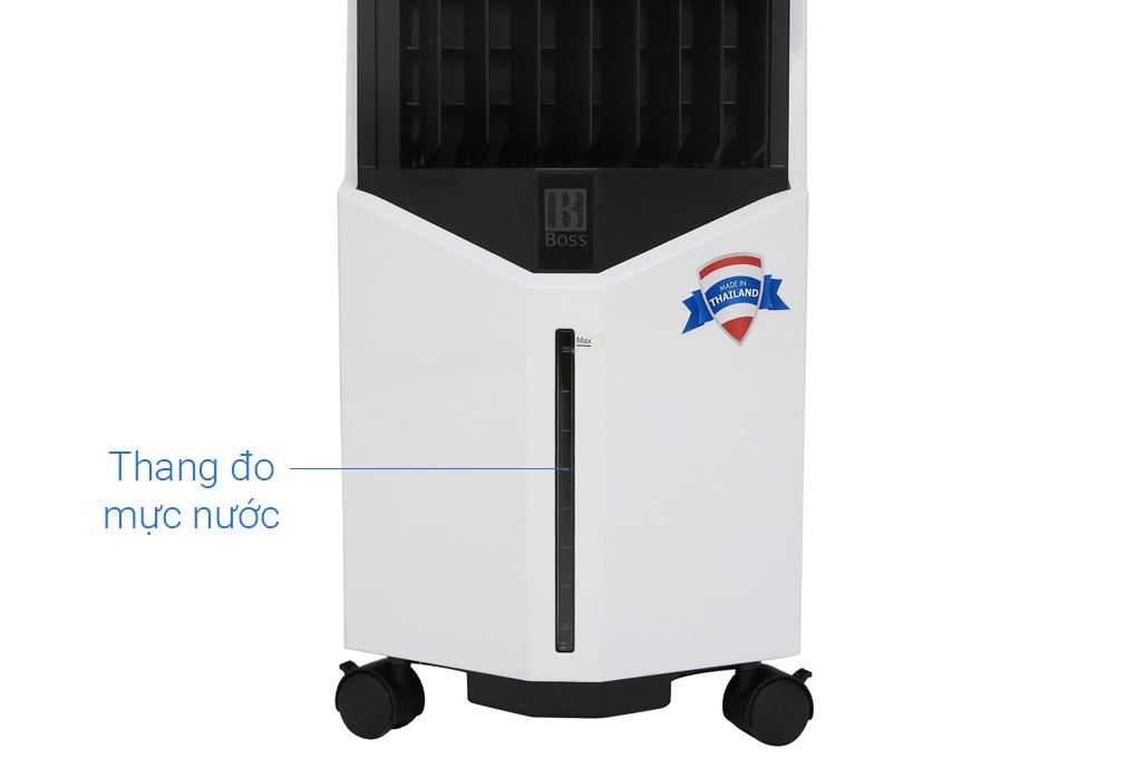 Quạt điều hòa không khí Boss S-102 vạch đo mức nước