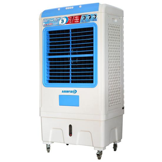 Quạt điều hòa hơi nước Asanzo A-8000 công nghiệp, công suất 220W