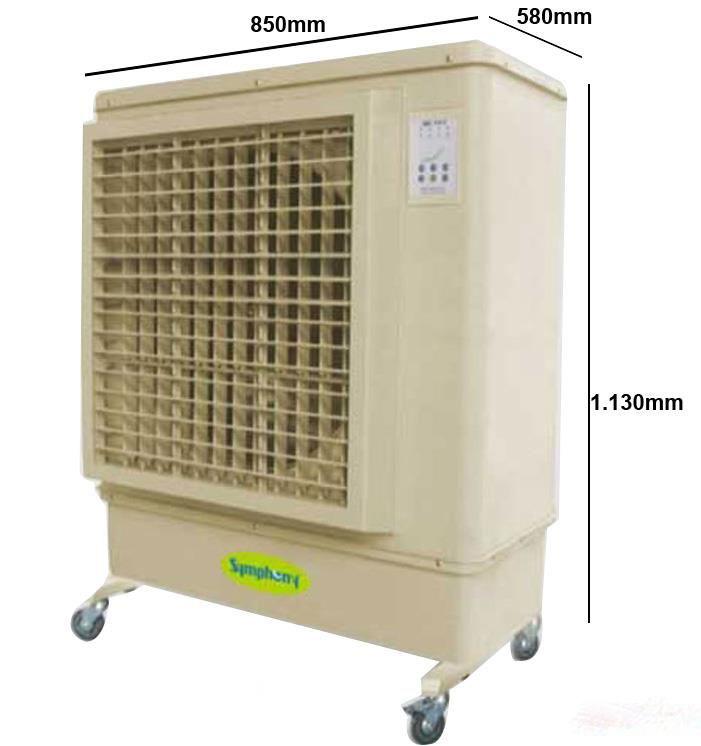 Quạt điều hòa làm mát không khí Symphony Mobicool 30 kích thước sản phẩm