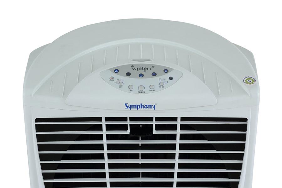 Máy làm mát không khí Symphony Winter i bảng điều khiển