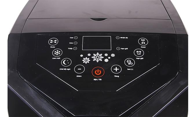 Máy làm mát không khí sunhouse shd7719 bảng điều khiển