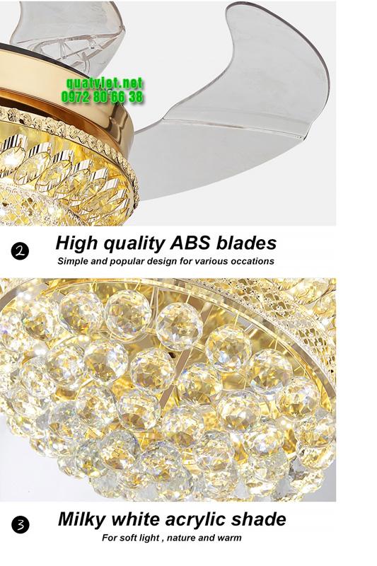 Chất liệu cánh và hạt trang trí breeze-lux-8668