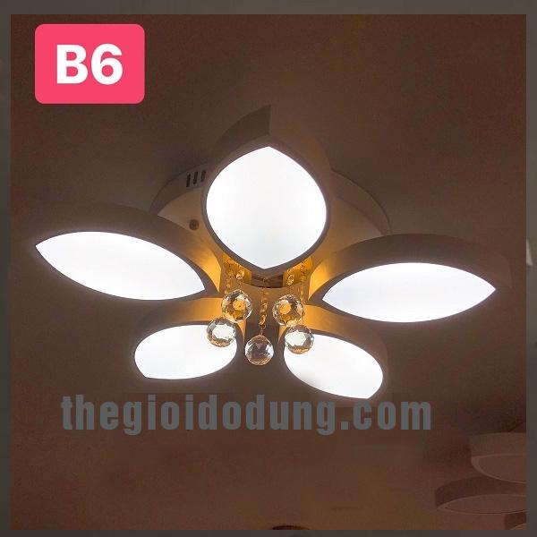 Đèn LED ốp trần trang trí B6
