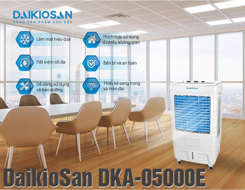 Ưu điểm của máy làm mát không khí DaikioSan 5000E