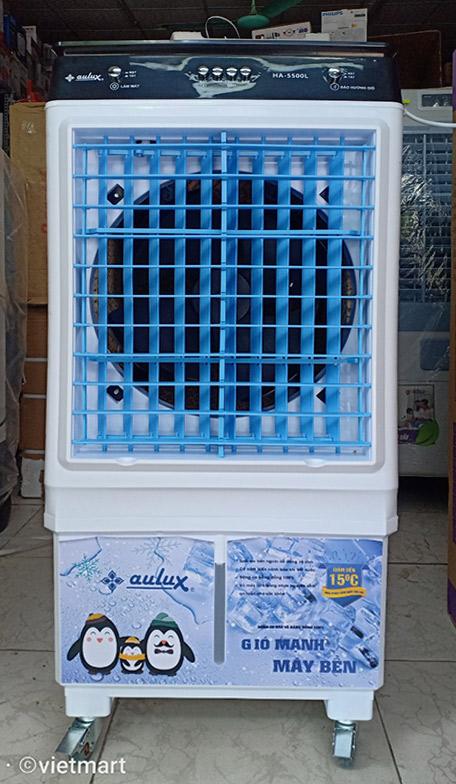 Máy làm mát không khí Aulux HA-5500L mặt trước
